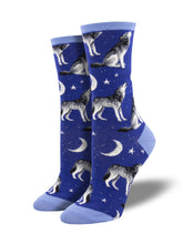 "Women's ""Howl At The Moon"" Socks"