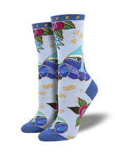 "Women's Laurel Burch ""Carlotta Cat"" Socks"