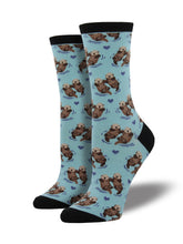 Women's Otter Socks - Sky