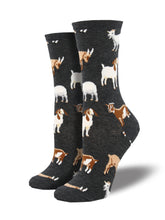 Women's Billy Goat Socks - Charcoal