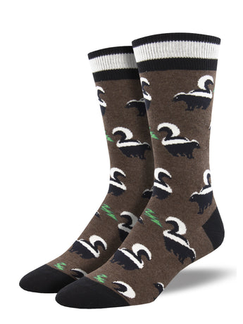 Men's Dress Socks - Funky Skunk