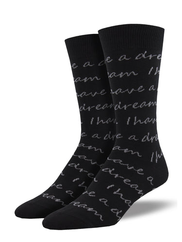 I Have A Dream Socks for Men - Shop Now | Socksmith