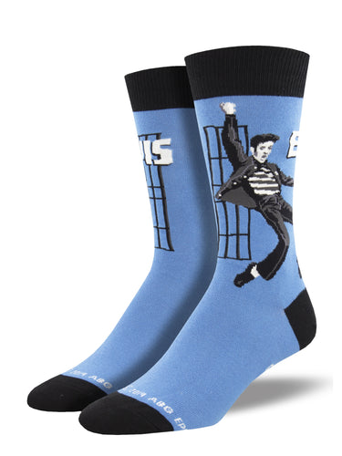 Elvis Jailhouse Rock Socks for Men - Shop Now | Socksmith