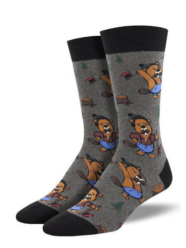Men's Dress Socks - Beavers