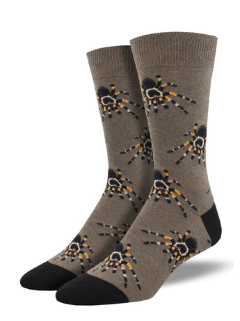 Men's Dress Socks - Tarantula