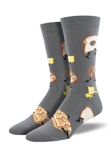 Men's Dress Socks - Walking Bread