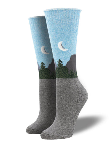 Recycled Cotton - Half Dome Socks Made In USA | Socksmith