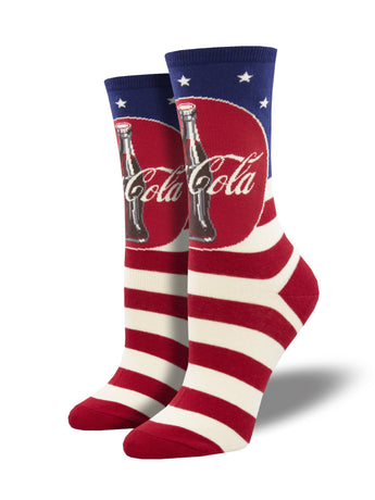 Americana Coca-Cola Socks for Women - Shop Now | Socksmith