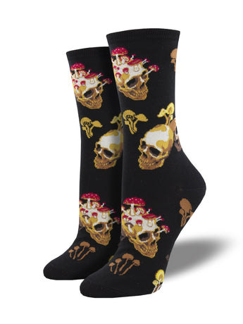 Women's Novelty Halloween Themed Skull Socks | Socksmith