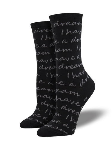 I Have A Dream Socks for Women - Shop Now | Socksmith
