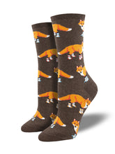 Women's Fox Novelty Cotton Socks | Socksmith