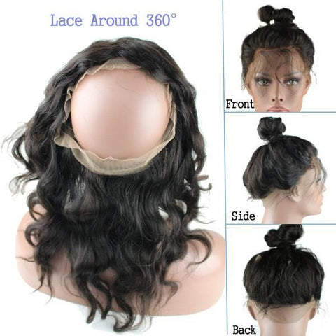 360 Full Lace Front