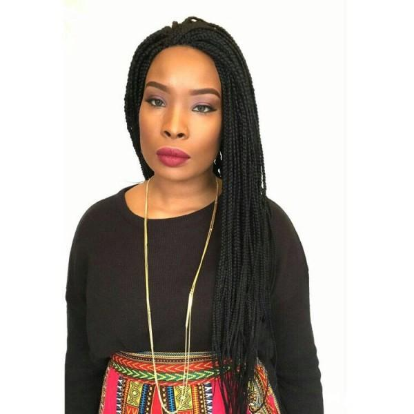 Box Braid Wig Colour 1