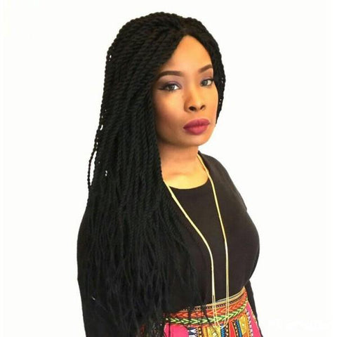 Twist Braided Wig Colour 1