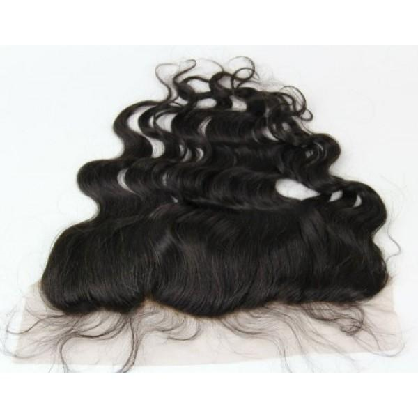 "High Quality Virgin Brazilian Hair 13""x 4""Lace Frontal Body Wave"
