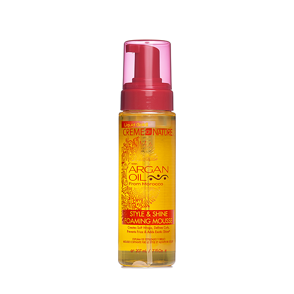 Creme Of Nature Argan Oil Style Shine mousse