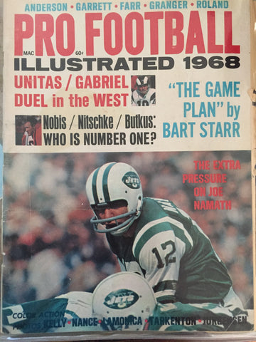 1968 Pro Football Illustrated
