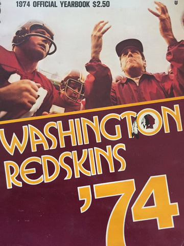 Redskins '74 yearbook