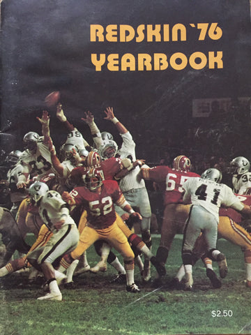Redskins '76 Yearbook