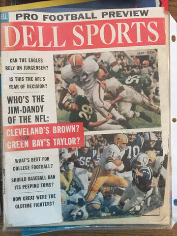September 1962 Dell Sports Pro Football Preview