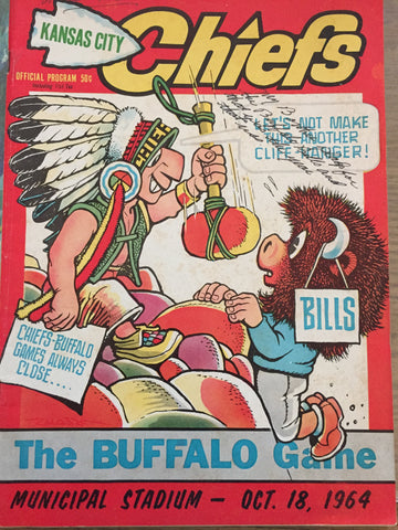 October 18, 1964 Chiefs vs Bills