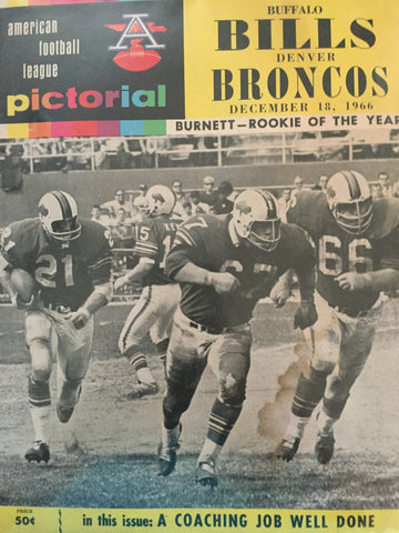 December 18, 1966 Bills vs Broncos
