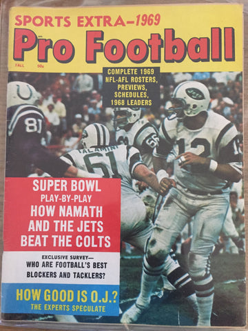 Sports Extra- 1969 Pro Football
