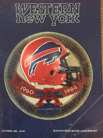 October 1984 Buffalo bills Silver Annivgersary
