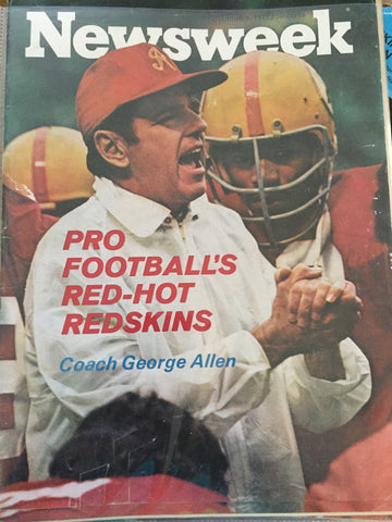 Newsweek article on George Allen and the Redskins