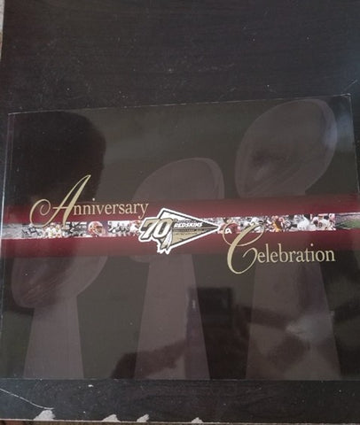 Washington Redskins 70th Anniversary Celebration Program