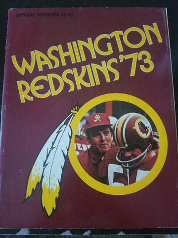 Redskins '73 Yearbook