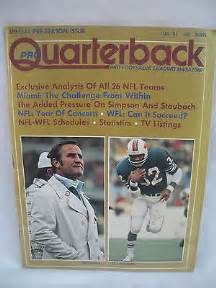 October 1974 Pro Quarterback