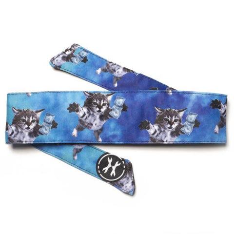 HK Army Headband - Cobain Cat