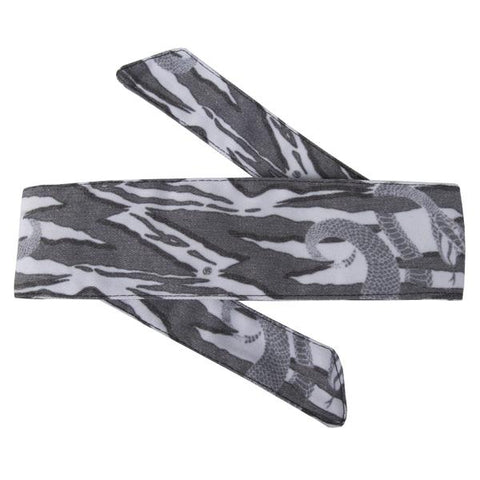 HK Army Hostilewear Headband - Snakes Grey