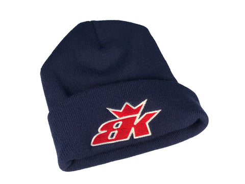 BK Thick Beanie - Blue/Red