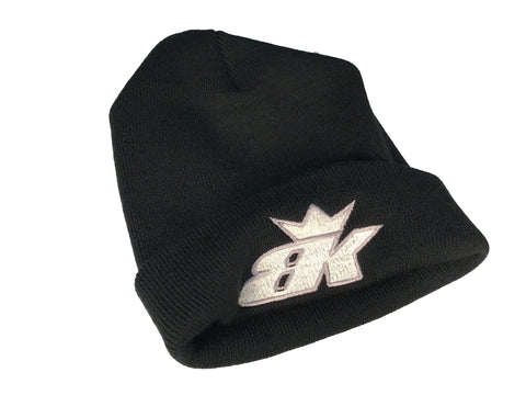 BK Thick Beanie - Black/White