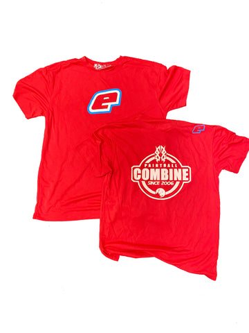 2020 Combine Planet Eclipse TShirt -  Red