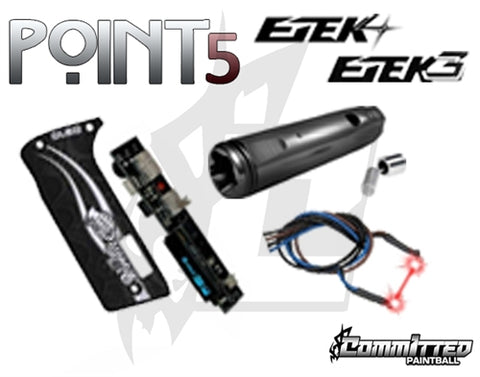 Committed Paintball Point5 ETEK3/4 Upgrade Kit