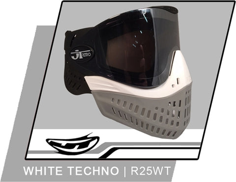 Empire E-Flex RETRO-25 - White Techno + Extra Thermal Lens