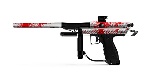 Inception Designs Retro ER TWSTR Autococker - Matte Masscare Splash