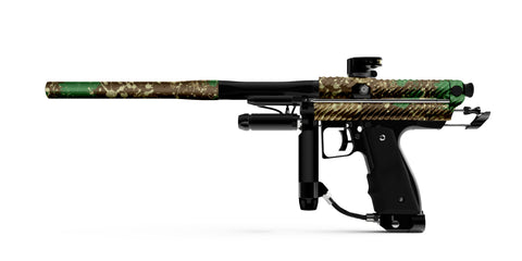 Inception Designs Retro Mini TWSTR Autococker - Polished Camo Splash [IN STOCK]