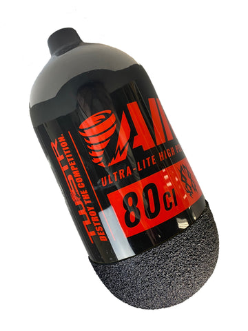 TWSTR AIR-80 UL 80/4500 - Black/Red (Bottle Only w/ GRYP)