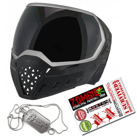 Empire EVS Goggle - Spectre + BPS Sticker Sheet + Dog Tags