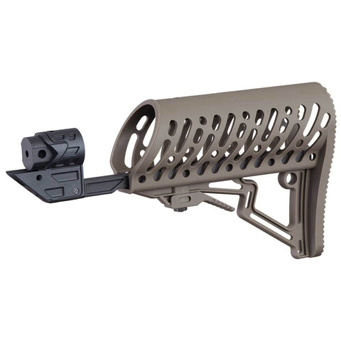 Tippmann TMC Adjustable Air-Thru Stock - Tan