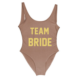 One Piece Team Bride Swimsuit