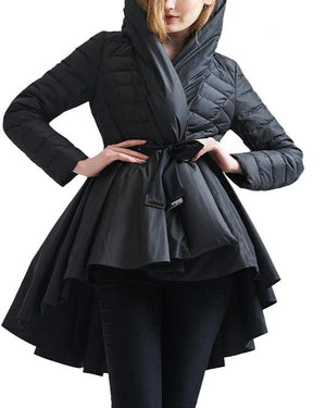 Boss Chics Dovetail Hem Parkas Jackets