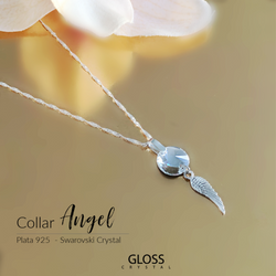Collar Angel Cristal Genuino - Gloss Crystal