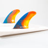 FCS II Mark Richards Twin + Stabiliser Fins