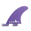 FCS II Gerry Lopez SUP Tri-Quad Fin Set