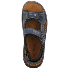 Josef Seibel Franklyn Blue Men's Sandal
